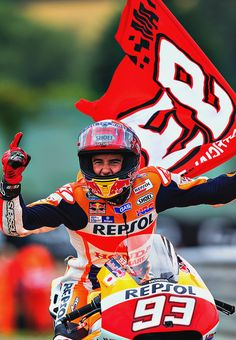 Marc Marquez, the king of the Sachsenring!