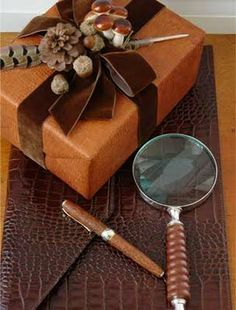 masculine and earthy