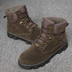 Women's Fashion Winter Warm Fur Lined Ankle Snow Boots Vintage Shoes Women, Vintage Boots, Fashion Boots, Fashion Fashion, Fashion Women, Ankle Snow Boots, Popular Shoes, Winter Shoes, Timberland Boots