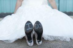 I do #Shoe Shot I - Adorable! I Laressa Marie Photography I See more @WeddingWire http://www.weddingwire.com/biz/laressa-marie-photography-austin/portfolio/92637d5f3f22458a.html?page=2&subtab=album&albumId=40ee1229f40e6240#vendor-storefront-content