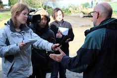 Journalism students get agricultural experience - Massey University