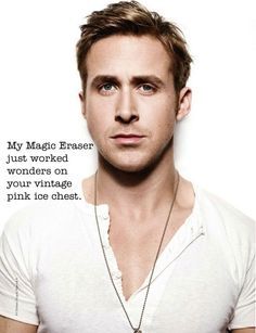 vintage picker ryan gosling | magic eraser | care of freshvintage