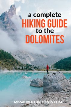 Here& everything you need to know to plan an awesome Dolomites hiking vacation in Italy. Info on Dolomites hiking trails, rifugios, transportation, gear, and more. Hiking Club, Hiking Guide, Hiking Trails, Hiking Places, Backpacking Tips, Hiking Gear, Hiking Shoes, Star Mobile, Italy Vacation