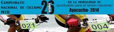 Evento: Campeonato nacional de ciclismo de MTB en Ayacucho, este 26 de octubre del 2014. http://www.deaventura.pe/eventos-de-ciclismo/campeonato-nacional-de-ciclismo-de-mtb-en-ayacucho #DeAventura