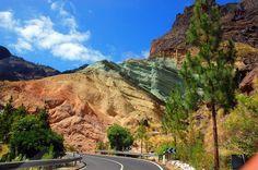 Fuente de los Azulejos, carretera a la Aldea de San Nicolás de Tolentino, Gran Canaria