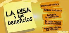 #Beneficios de la #Risa