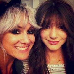 My two Favs people!!! Lou Teasdale and Eleanor Calder (Lou Teasdale 's Instagram) 6 april 2013