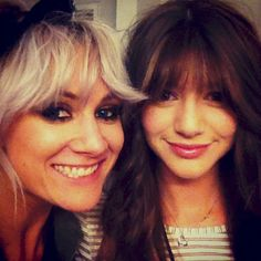 My two Favs people!!! Lou Teasdale and Eleanor Calder (Lou Teasdale 's Instagram) 6 april 2013