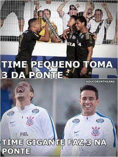 Corinthians fez o que Santos e Palmeiras não fizeram...