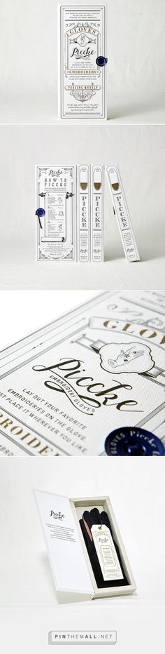 Piccke on Packaging of the World - Creative Package Design Gallery - created on Ci Design, Typo Design, Typography Design, Branding Design, Cosmetic Packaging, Brand Packaging, Packaging Design Inspiration, Graphic Design Inspiration, Cosmetic Design