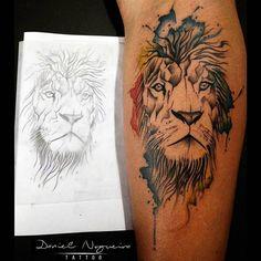 """Tatuagem feita por <a href=""""http://instagram.com/danninogueiratattoo"""">@danninogueiratattoo</a>❤️ Cadrastre-se em nosso site e receba novidades do mundo da tatuagem e sorteios exclusivos! www.tattoo2me.com Link clicável na nossa bio! =)"""