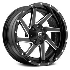 fuel 20x12 wheels | FUEL® RENEGADE Wheels - Black with Milled Accents Rims
