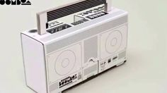 Boombox Berlin - Recycling Design old school Radio