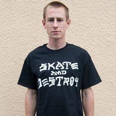 Thrasher Skate And Destroy T-Shirt