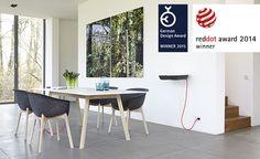 Kolekcja Pad Table to nowoczesne i funkcjonalne stoły do jadalni, pracowni oraz gabinetów.