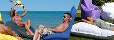 Beach cushions -