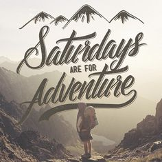 Creative Typography, Adventure, Saturdays, Inspiration, and Lettering image ideas & inspiration on Designspiration Adventure Quotes, Adventure Travel, Adventure Awaits, Adventure Holiday, Adventure Style, Chic Type, Travel Maps, Typography Inspiration, Travel Scrapbook