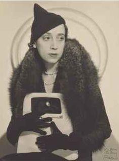 Elsa Schiaparelli, photo by Man Ray, circa 1931