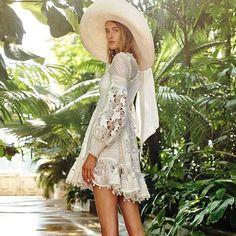 Prestige Elegant White Dress – Style Me Love Skirt Fashion, Boho Fashion, Fashion Outfits, Womens Fashion, Fashion Design, Fashion Top, Fashion Brands, Vestidos Vintage, Mini Vestidos