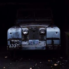 Barn find! Lovely foto.