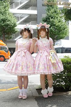 Discover recipes, home ideas, style inspiration and other ideas to try. Harajuku Fashion, Kawaii Fashion, Cute Fashion, Fashion Outfits, Gothic Lolita Dress, Gothic Lolita Fashion, Lolita Style, Looks Kawaii, Mode Lolita