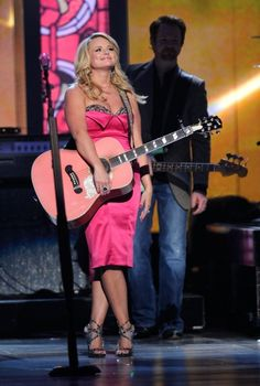 Miranda Lambert at the 2012 Academy of Country Music Awards Academy Of Country Music, Country Music Awards, Country Music Artists, Girl Celebrities, Celebs, Miranda Blake, Miranda Lambert Photos, Pink Guitar, Now And Forever