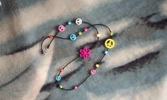 Peace and Flower Power by glitterbygrammie on Etsy, $10.00