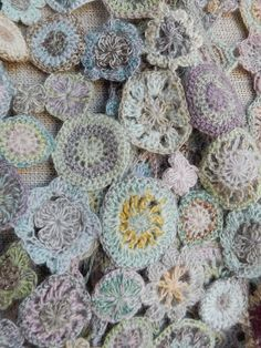 Sophie Digard crochet - close-up