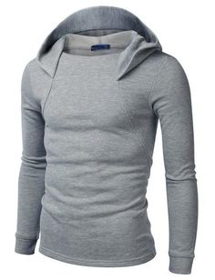 Men Slim Fit Hoodie #fashionhoodiemens