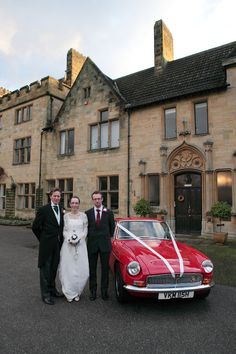 Bride and groom with a traditional British sports car South East England, British Sports Cars, Groom, Wedding Day, Wedding Photography, Traditional, Bride, Mountains, Country