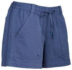 Bob Timberlake Linen Shorts for Ladies - Bijou Blue - 14