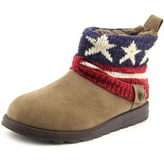 Muk Luks 16352 Women Round Toe Synthetic Winter Boot -- Click on the image for additional details.