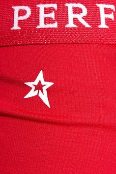 Perfect Moment - Stretch-jersey Ski Leggings - Red -