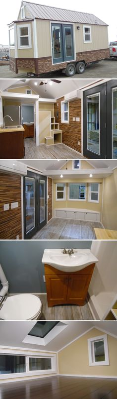 Crosswinds: a 180 sq ft tiny house from Upper Valley Tiny Homes in Utah                                                                                                                                                                                 More