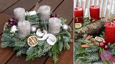Julstyle Adventskranz