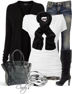 """""""Black and White"""" by cindycook10 on Polyvore"""