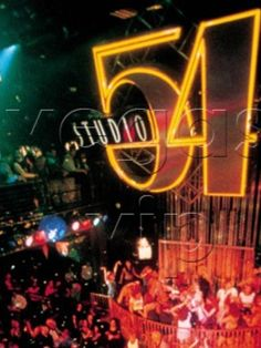 Studio 54....one of my favorite 80's places with my FIT friends. How did we..ok I survive dancing up there omg!