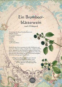 Ein Brombeerblätterwein