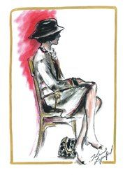 CHANEL-Sketch de Karl Lagerfeld