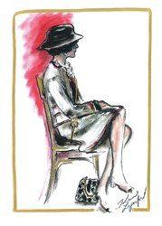 CHANEL-Sketch de Karl Lagerfeld