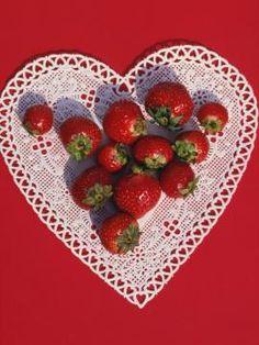 Canadian Strawberry Flag Cake Recipe