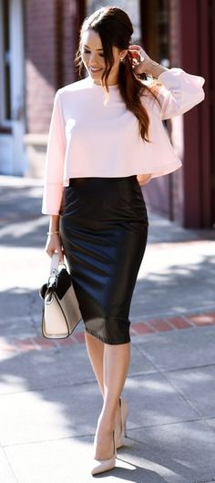 Unboring-Work-Outfit-For-You #womenworkoutfits