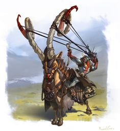 ArtStation - the bird hunter, Ricardo Caria Fantasy Dragon, Fantasy Warrior, Fantasy Rpg, Fantasy Artwork, Weird Creatures, Fantasy Creatures, Mythical Creatures, Creature Feature, Creature Design