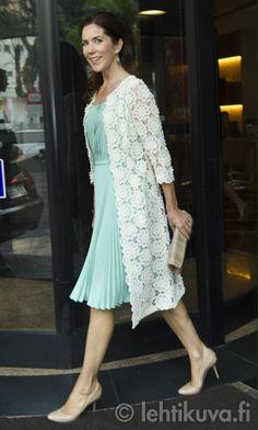 MYROYALS - HOLLYWOOD: Crown Princess Mary of Denmark in Prada visits Brazil