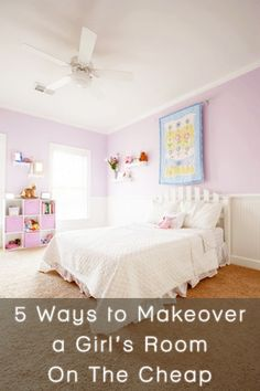 Nice 5 Ways To Makeover A Girlu0027s Room Using Paint