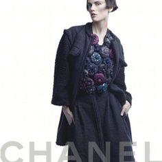 Chanel Enlists Stella Tennant, Saskia de Brauw, Kati Nescher & Cora Emmanuel for its Fall 2012 Campaign