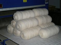 200 gram bumps for hand spinners $25 each www.thefibreofthegods.com 08 9574 5577
