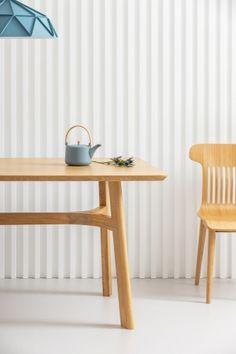 LUPO drewniany stół dębowy styl skandynawski Mebloscenka Furniture, Design, Home Decor, Decoration Home, Room Decor, Home Furnishings, Home Interior Design, Home Decoration