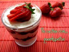 QUARKSPEISE, ovvero crema di ricotta, marmellata e frutta