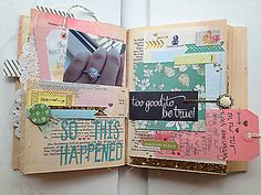 More Happy Little Moments - Pages 7 & 8 by sweetpeaink at @Studio_Calico